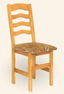 Krzesło drewniane kuchenne Filip tapicerowane