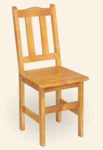 Krzesło drewniane Troll
