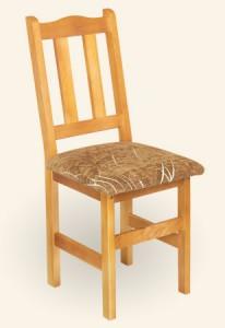 Krzesło drewniane Troll tapicerowane