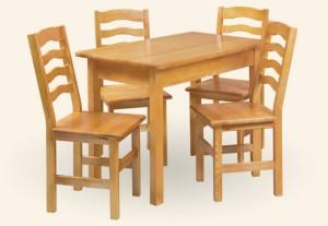 FILIP drewniany - zestaw kuchenny