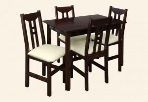 krzesło FOCUS stół FOCUS