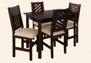stół FOCUS krzesło ROSA