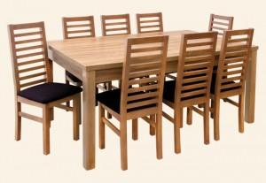 stół NIKO krzesło ALAN