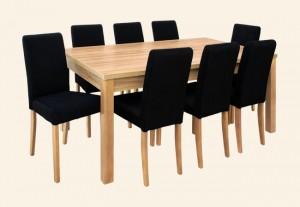 stół NIKO krzesło VIKI