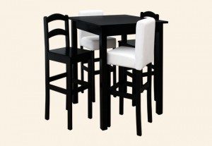 stół TOMI hoker TOMI 1 i hoker TOMI 2